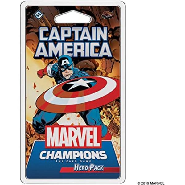 Marvel Champions: Das Kartenspiel - Captain America Erweiterung DE