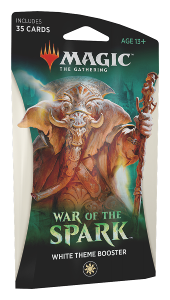 War of the Spark - Theme Booster White (ENG)