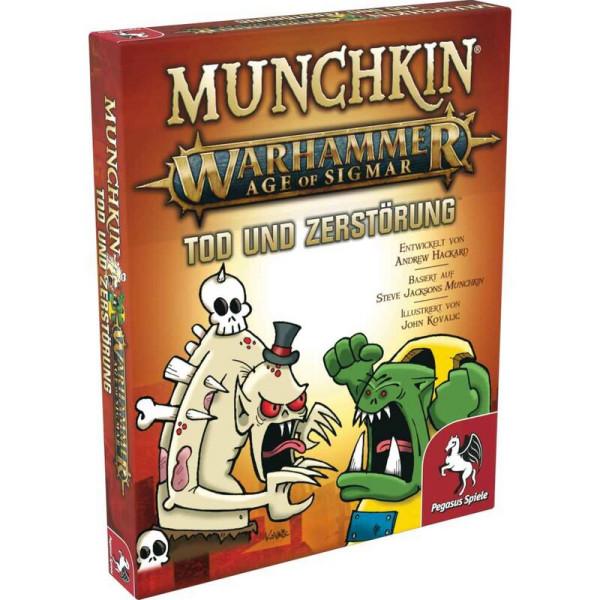 Munchkin Warhammer Age of Sigmar: Tod und Zerstörung