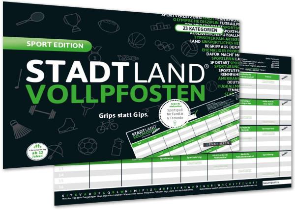 STADT LAND VOLLPFOSTEN SPORT EDITION (DIN-A4-Format)