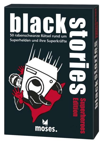 black stories Superheroes Edition