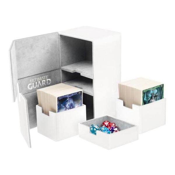 Twin Flip´n´Tray Deck Case 200+ Standard Size XenoSkin™ White
