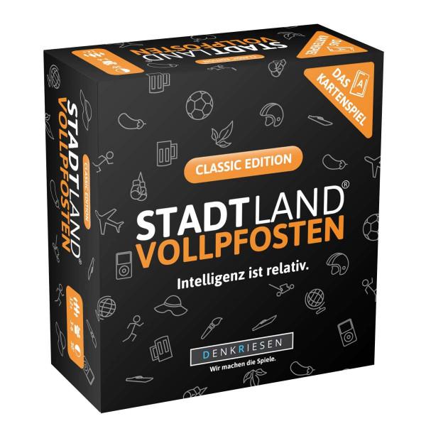 STADT LAND VOLLPFOSTEN: Das Kartenspiel - Classic Edition