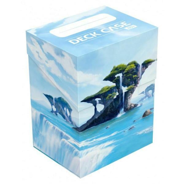 Deck Case 80+ Standard Size Lands Edition II Island