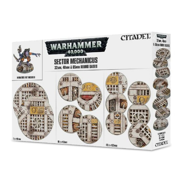 SECTOR MECHANICUS: INDUSTRIAL BASES (66-95)