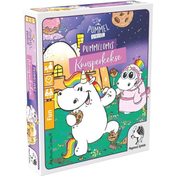 Pummel & Friends: Pummelomis Knusperkekse (Bierdeckelspiel)