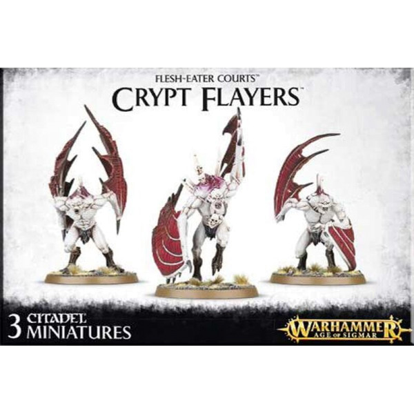 FLESH-EATER COURTS CRYPT FLAYERS (91-13)