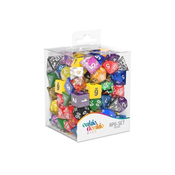 Oakie Doakie Dice RPG Set Mixed (105)