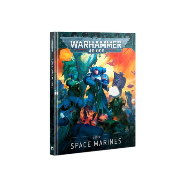 CODEX: SPACE MARINES (HB) (ENG) (48-01)