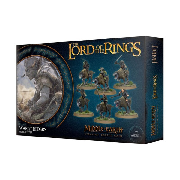 THE LORD OF THE RINGS: WARG RIDERS (30-37)