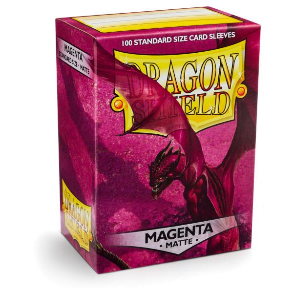 Dragon Shield: Matte Magenta (100)