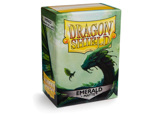 Dragon Shield: Matte Emerald (100)