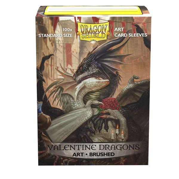Dragon Shield: Matte Art Valentine Dragons 2021 (100)