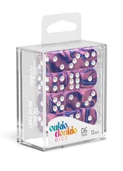 Oakie Doakie Dice D6 Dice 16 mm Gemidice - Venus (12)