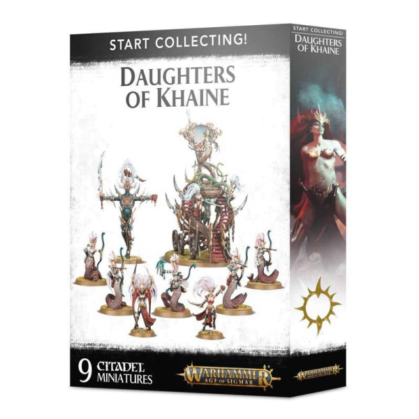 START COLLECTING! DAUGHTERS OF KHAINE (70-61)