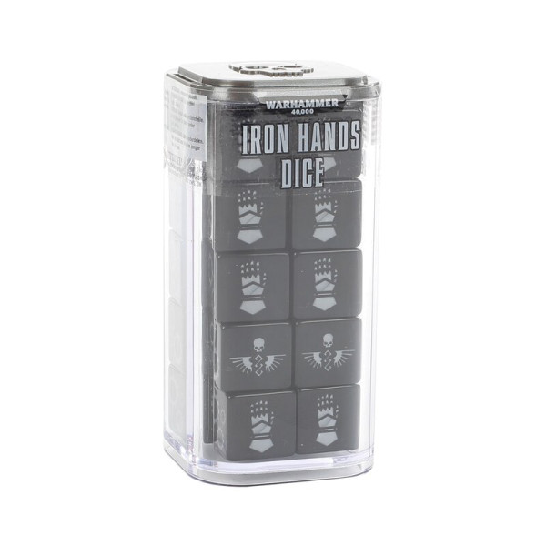 IRON HANDS DICE SET (86-85)