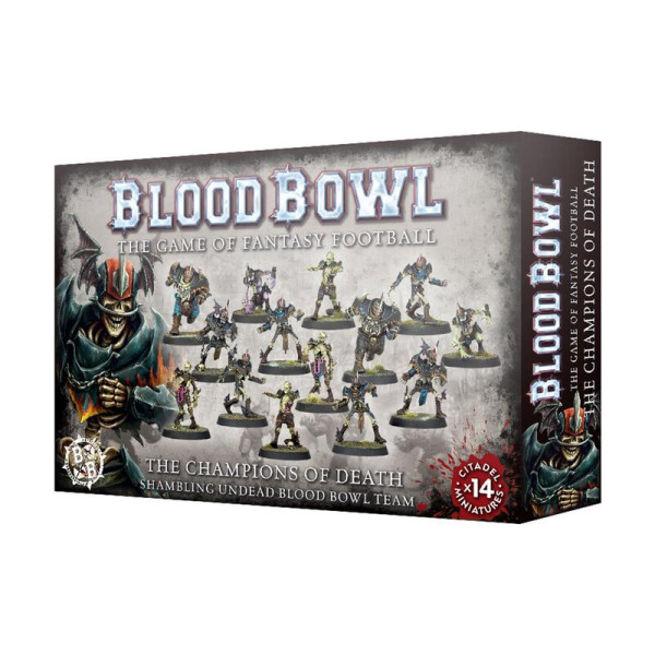BLOOD BOWL CHAMPIONS OF DEATH TEAM (200-62)