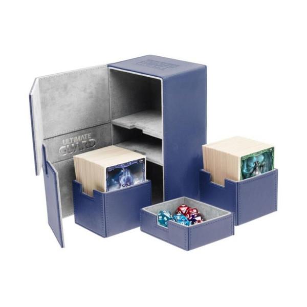 Twin Flip´n´Tray Deck Case 200+ Standard Size XenoSkin™ Blue