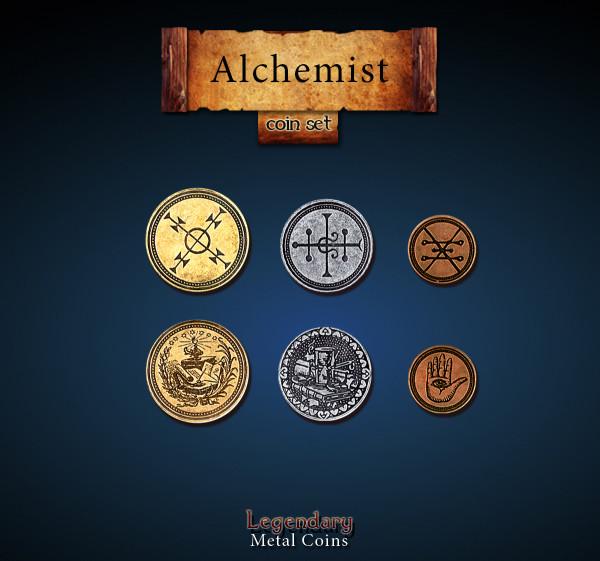 Alchemist Coin Set (24 Stück)