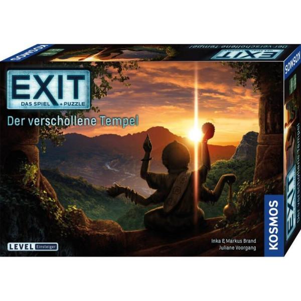 EXIT Spiel + Puzzle - Der verschollene Tempel (Einsteiger)