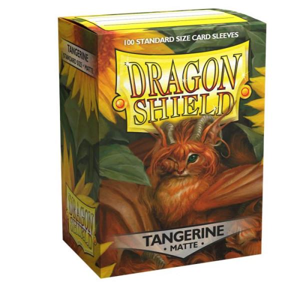 Dragon Shield: Matte Tangerine (100)