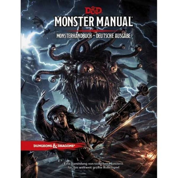D&D Monster Manual - Monsterhandbuch 3. üb. Aufl.