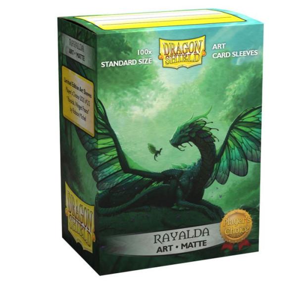 Dragon Shield: Player´s Choice Sleeves Matte Classic Rayalda(100)