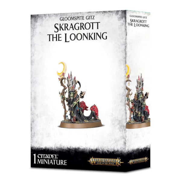 GLOOMSPITE GITZ SKRAGROTT THE LOONKING (89-45)