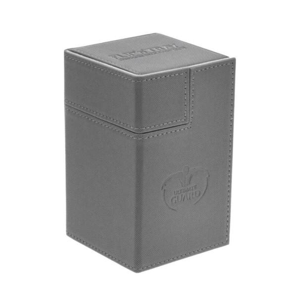 Flip´n´Tray Deck Case 100+ Standard Size XenoSkin™ Grey