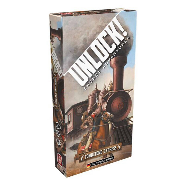 Unlock! - Tombstone Express (Einzelszenario)