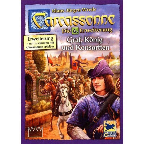 Carcassonne - Graf, König und Konsorten Die 6. Erweiterung