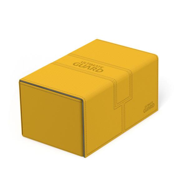 Twin Flip´n´Tray Deck Case 160+ Standard Size XenoSkin™ Amber