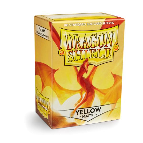 Dragon Shield: Matte Yellow (100)