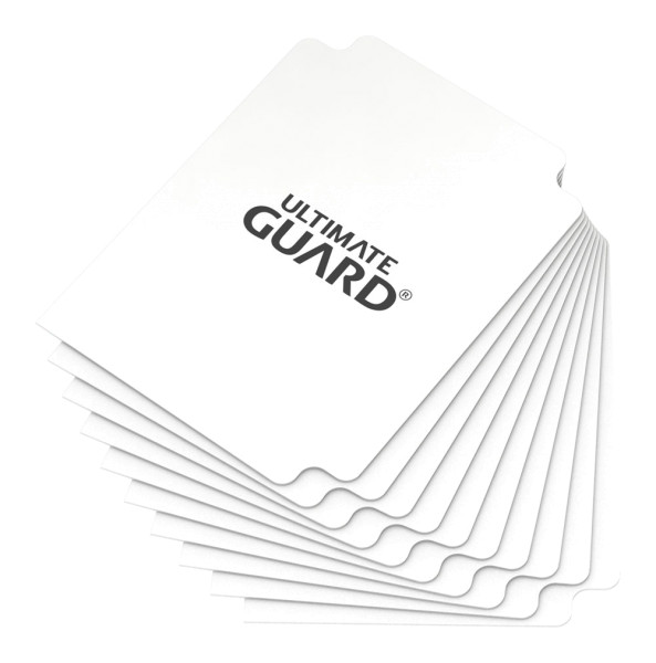 Card Dividers Standard Size White