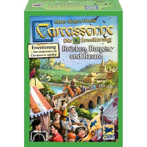 Carcassonne - Brücken, Burgen und Basare - Die 8. Erweiterung