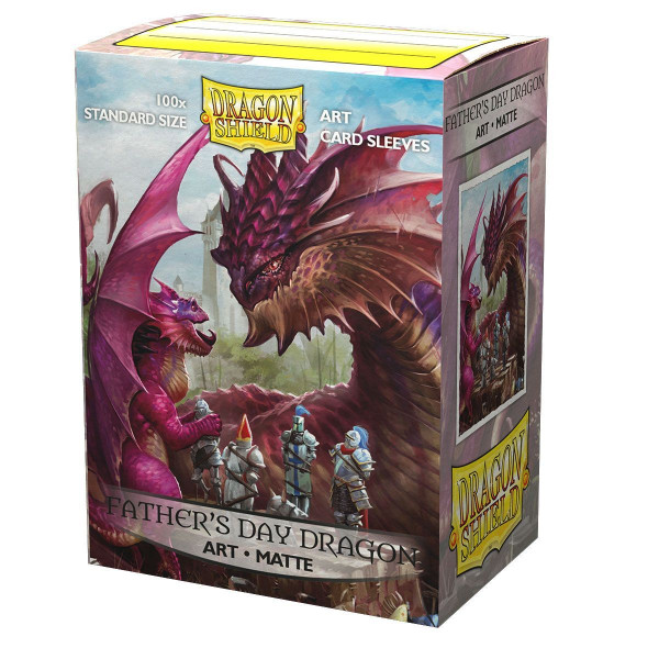 Dragon Shield: ART Sleeves Matte Classic Fathers Day Dragon (100)