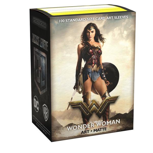 Dragon Shield: Matte Art Justice League Wonder Woman (100)