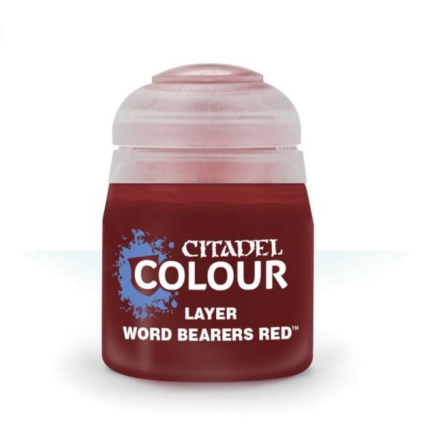 LAYER: WORD BEARERS RED (12ML) (22-91)