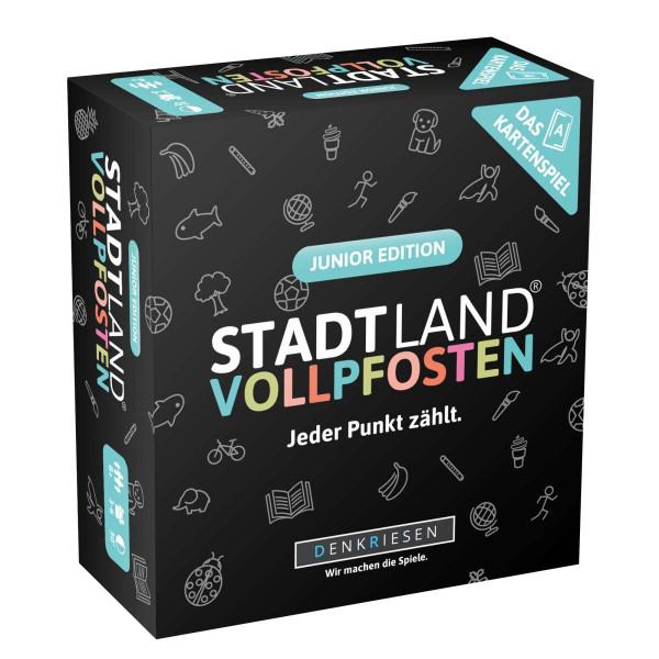STADT LAND VOLLPFOSTEN: Das Kartenspiel - Junior Edition