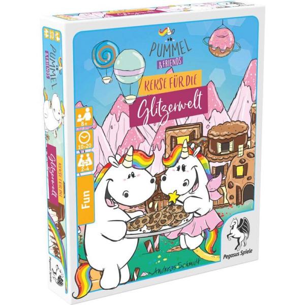 Pummel & Friends: Kekse für die Glitzerwelt (Bierdeckelspiel)