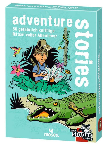 Black Stories Junior adventure stories