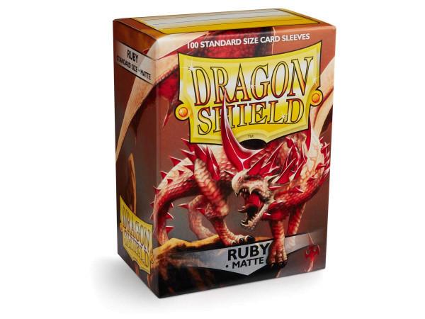 Dragon Shield: Matte Ruby (100)