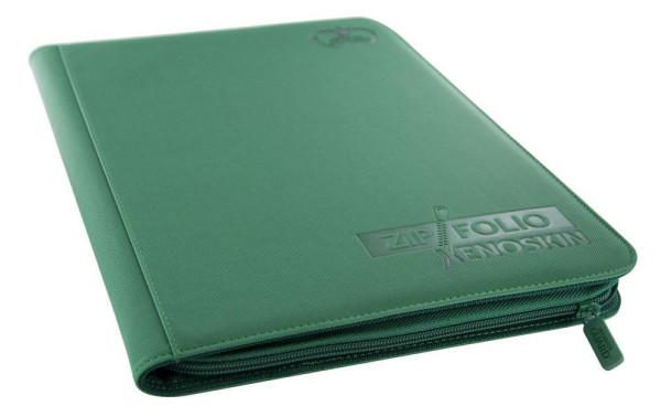 9-Pocket ZipFolio XenoSkin™ Grün