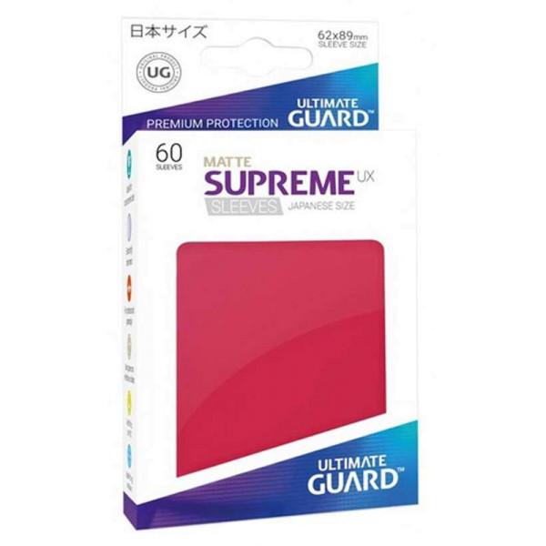 Supreme UX Sleeves Japanische Größe Matte Red (60)