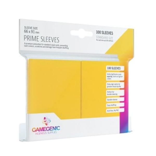 Gamegenic - Prime Sleeves Yellow (100 Sleeves)
