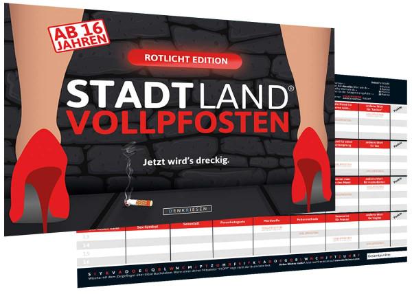 STADT LAND VOLLPFOSTEN ROTLICHT EDITION (DinA4-Format)