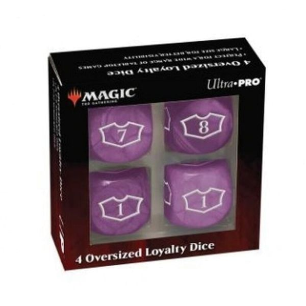 UP - Deluxe 22MM Swamp Loyalty Dice Set with 7-12 for Magic: The Gathering