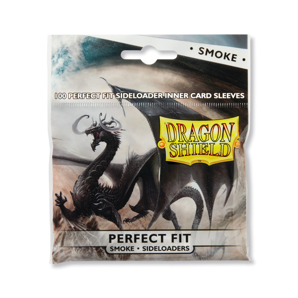 Dragon Shield: Perfect Fit Inner Sleeves - Sideloader Clear/Smoke(100)