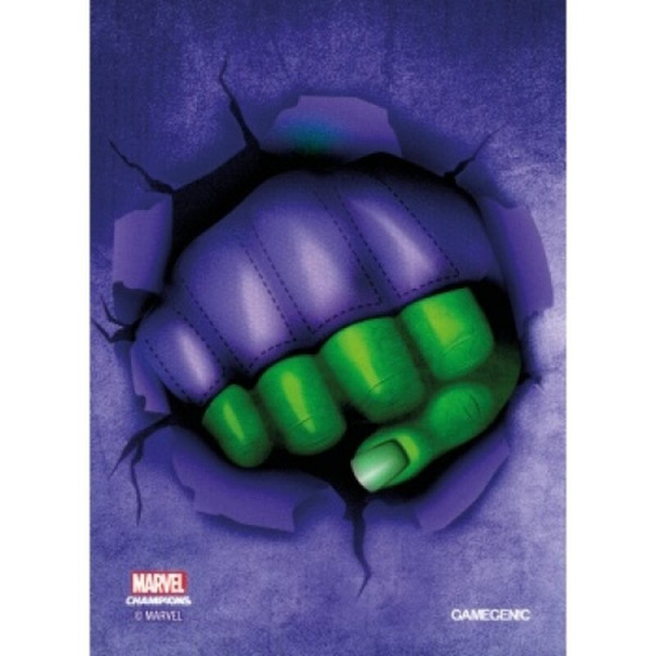Gamegenic - Marvel Champions Art Sleeves - She-Hulk (50+1 Sleeves)