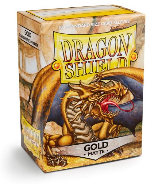 Dragon Shield: Matte Gold (100)